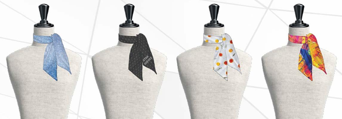 TWILLY imprimé ou tissé / soie & polyester
